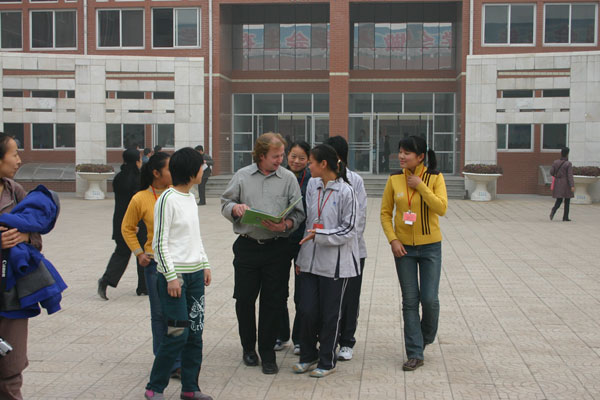 Volunteer Teachers in China